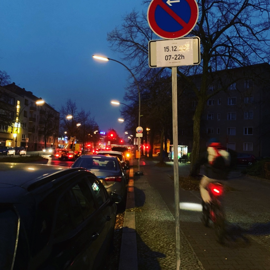 Halteverbot einrichten Berlin